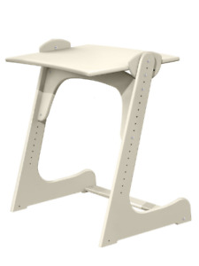 Children's table Growing desk Table for kids Table for preschoolers Birch wood