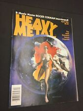 Heavy Metal magazine vintage Comics April 1984