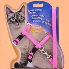Cat Traction Adjustable Cat Pet Adjustable Rope Kitten Collar Rope Nylon Harness