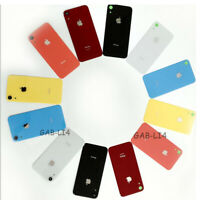 """Battery Back Door Glass Cover With Camera Lens Cover Tape For iPhone XR 6.1"""" USA"""