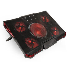 Game Lab Cyclone 4-Fan Laptop Cooler Red