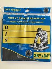 """NEW, DIY Insect Screen Repair Kit 36"""" x 84"""""""