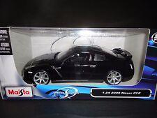Maisto Nissan GT-R R35 Black 1/24