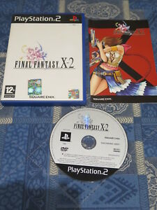 PS2 : FINAL FANTASY X-2 - Completo, ITA ! Prima stampa !