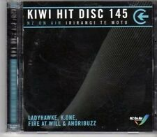 (DH124) Kiwi Hit Disc 145, 20 tracks various artists - 2012 double DJ CD