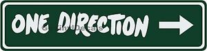 One Direction Sign with Right Arrow Street / Road Name Sign!  Choice of Colors!