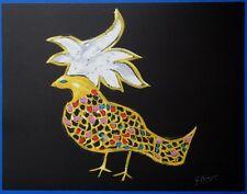 """Georges BRAQUE : """"Phoenix Oiseau de feu"""" LITHOGRAPHIE SIGNEE  ARCHES"""
