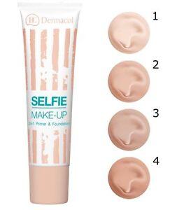 DERMACOL SELFIE Make-up Primer And Foundation 2in1 Smooth Matt