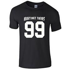 MARTINEZ 99 BASEBALL TEE T-SHIRT YOUTUBER VLOGGER YOUTUBERS TWINS IVAN EMILIO