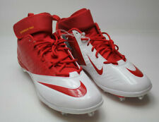 Nike 544762-616 Superbad Pro Men's Football Cleats Red and White Size 17  New