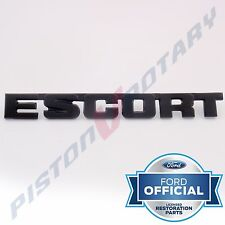 ESCORT Boot Lid Badge , New for FORD RS2000 MKII MK2 MK 2 Bootlid Trunk RS 2000