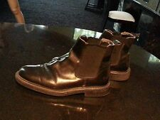 SKECHERS COLLECTION MADE IN ITALY MEN BOOT SIZE 8M.UPPER LEATHER