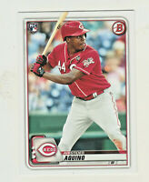 2020 Bowman #79 ARISTIDES AQUINO RC Rookie Cincinnati Reds QTY AVAILABLE