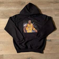 Kobe Bryant Hoodie (black) Mamba Sweatshirt Pullover Size X-Large (XL)