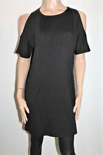 TARGET Designer Black Cold Shoulder T-Shirt Dress Size 8 BNWT #SO55