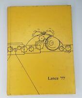 1977 Lance Lutheran High School South St. Louis Missouri Yearbook R