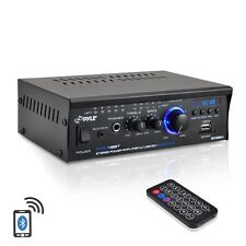 BLUETOOTH 240W DJ PROFESSIONAL HOME AUDIO DIGITAL STEREO 2CH POWER AMP AMPLIFIER