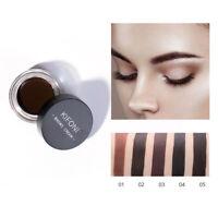 5Color Makeup Eyebrow Enhancers Waterproof Long Lasting Eye Brow Cream Best ETR