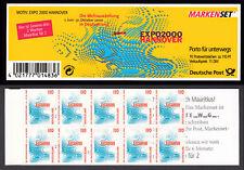 Bund Markenheftchen 39 II ZB ** Sehenswürdigkeiten 1999 postfrisch m. Zählbalken