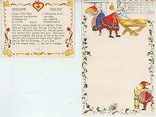 VINTAGE BAKER BUTTER CHURN SPRITZ COOKIES RECIPE PRINT 1 PEACHES MASON JAR CARD