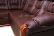 Corner Sofabed + Storage, Real ItalianLeather,left or right hand side, customise