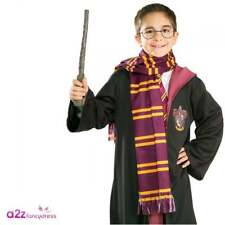 HARRY POTTER Scarf Kids Accessory Gryffindor Hermione Halloween Licensed O/Size
