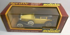 Solido 1/43 Scale Metal Model - SO229 CORD L 29 55  YELLOW