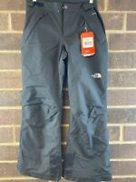 NWT The North Face Freedom Black Insulated Waterproof Snow Pants Girls Size L