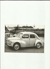 Original RENAULT 4 CV 1959 Photo de presse-Brochure liés