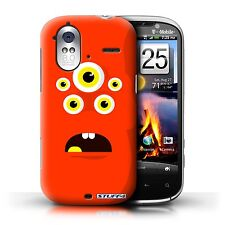 STUFF4 Back Case/Cover/Skin for HTC Amaze 4G/Monsters
