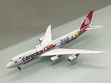 Phoenix 1/400 Cargolux Boeing 747-8F LX-VCM Cutaway die cast metal model