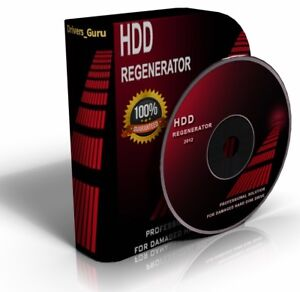 Hard Drive Regenerate Tool refreshes & revives bad sectors back to new, Boot CD