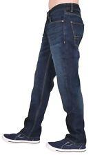 Crosshatch Hombre Nuevo con Etiqueta Azul Oscuro Estándar Western Vaqueros
