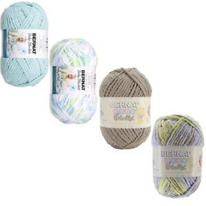 Bernat Baby Blanket Big Ball Yarn Little Boy Dove, Funny Prints, Baby Sand Sea