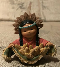 """Enesco - Friends of the Feather - """"Girl With Corn."""""""