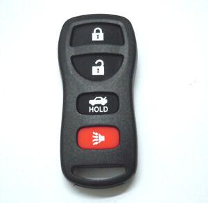 4BT Key FOB Remote Shell Case fits Nissan 350Z 2003-2007 Armada Sentra 2005-2007