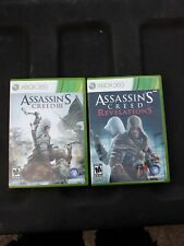 Xbox 360 (Lot Of 2) Assassin's Creed 3, Assassin's Creed Revelations