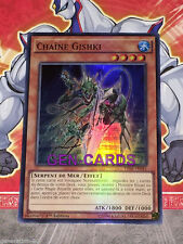 Carte Yu Gi Oh CHAINE GISHKI THSF-FR041 x 3