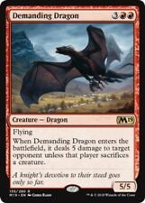 4x Demanding Dragon NM-Mint, English Core Set 2019 MTG Magic