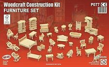 Furniture Set - Quay Woodcraft Construction Kit FSC P077