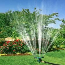 360° Rotation Lawn Sprinkler Automatic Garden Glass Water Sprinklers Irrigation