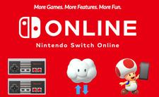 ⚡Nintendo Switch Online Membership 12 months (Expiring 28 Mar 2021) Worldwide🌎