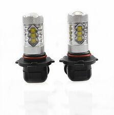 2Pcs Genuine Cree XB-D LED Fog Light or DRL 80W 1900LM, 9005/HB3, White 6000K