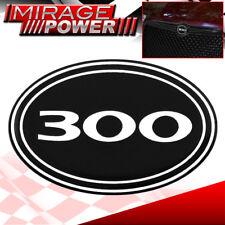 For Chrysler 300C Vip Front Center Grille 300 Logo Badge Black Upgrade Luxury