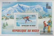 Niger Block 26 (complete issue) unmounted mint / never hinged 1979 Olympics Wint