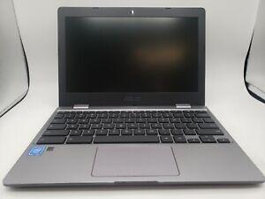"ASUS Chromebook 11.6"" (16GB,Dual-Core,2.4 GHz, 4GB) Laptop - Gray - CX22NA-BCLN4"