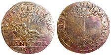 PAYS-BAS ESPAGNOLS - Philippe II - Jeton - État malheureux du Hainaut 1582