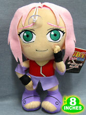 8'' Naruto Haruno Sakura Plush Anime Stuffed Doll Back-to-School Gift NAPL4990