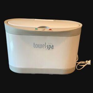 Brookstone Innovation Table Top  Towel Spa Warmer Model TSK-5202MM White