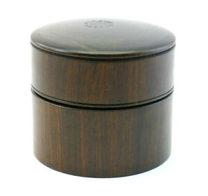 ANTIQUE 19th CENTURY BERRY'S PATENT TREEN ROSEWOOD TRAVELLING CAMPAIGN INKWELL